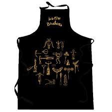 tablier de cuisine homme tablier de cuisine tire bouchons noir achat vente tablier de