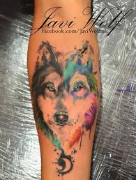 forearm wolf tattoos love this watercolor wolf tattoo watercolor tattoo ideas wolf