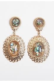 vintage earrings vintage gold earrings zeige earrings
