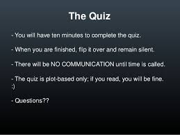 the scarlet letter objective quizzes