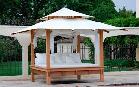 furniture garden contemporary canopy bed