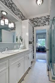 bathroom linen cabinet with double sinks bathroom traditional and