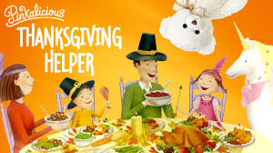 pinkalicious thanksgiving helper by kann thanksgiving
