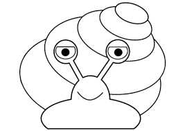 cartoon snail coloring free printable coloring pages