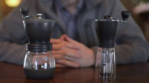 Hand Crank Coffee Grinder Mason Jar Read Our Hario Skerton Vs Mini Mill Comparison Side By Side