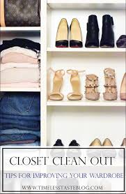 closet clean out tips for updating your wardrobe timeless taste