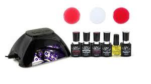 amazon com uv nails v10 led starter kit uv gel polish and led