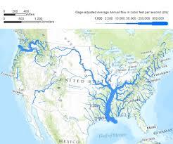 Continental Us Map Us Map With Major Rivers 037e654432ef96f708ea00e79e37cff2 Physical