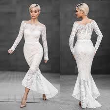 white lace dress 2018 shoulder white lace dress women sleeve slash neck