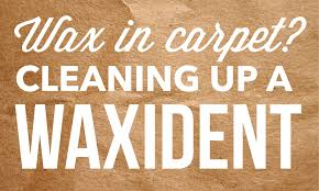 Remove Wax From Fabric Upholstery How Do I Get Scentsy Wax Out Of Carpet Cleaning Up A Waxident