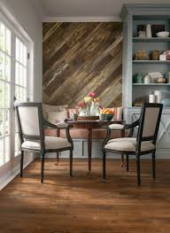 Laminate Wood Flooring Kitchen Wood Feature Accent Wall Ideas Using Flooring Fox Hollow Cottage