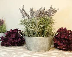 Tin Buckets For Centerpieces by Galvanized Buckets Etsy