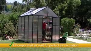 Greenhouse Palram Palram Glory Premium Class Greenhouse Youtube