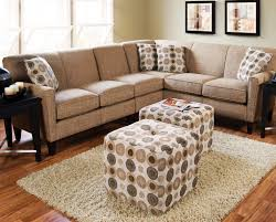 Sectional Leather Sofas For Small Spaces Furniture Brown Faux Leather Curved Sectional Sofa Plus