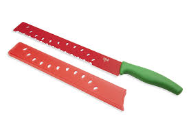 Kitchen Knives Amazon by Amazon Com Kuhn Rikon Original Melon Knife Color Red Green