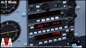 a2a c172 avioncs tutorials transponder youtube