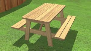 Plans For Building A Heavy Duty Picnic Table by How To Build A Picnic Table 13 Steps With Pictures Wikihow
