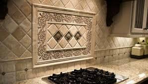decorative tile inserts kitchen backsplash kitchen astounding kitchen backsplash medallions decorative tile