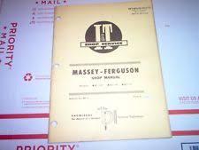 massey ferguson 31 manual ebay