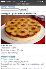 pineapple upside down cheese cake food drink trusper tip