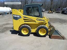 gehl skid steer 4840 specifications straight through processing