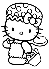 wonderful ideas kitty birthday party coloring