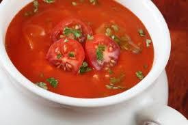 cuisiner les poivrons rouges soupe aux tomates et aux poivrons rouges grillés recettes de