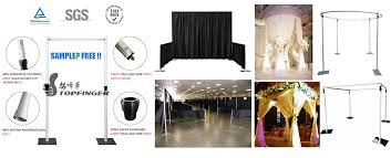 wedding backdrop alternatives cheap used pipe and drape alternatives portable sets stand stage