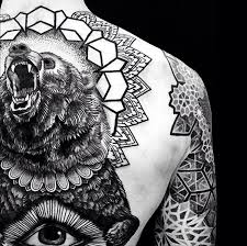 bear tattoo meaning ink vivo