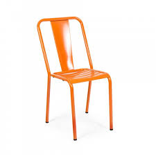 Bistro Chairs Uk Orange French Metal Bistro Chair Cult Uk