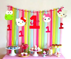 Cool Hello Kitty Decoration Hello Kitty Birthday Decoration By