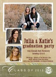 sided graduation announcements designs sided casual graduation invitations templates with