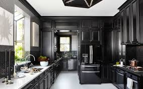 cuisine noir meuble de cuisine noir et blanc buffet de cuisine noir et blanc
