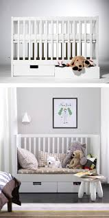 Best Ikea Crib Mattress The Stuva Crib Converts To A Toddler Bed The Transition