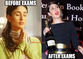 Kareena Kapoor Memes - kareena kapoor memes on twitter before exam and after exam