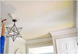 Remove Popcorn Ceiling And Paint by Remove Your Damaged Popcorn Ceiling And Get A Smooth Surface