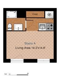 Studio Apartment Floor Plan by Floor Plans Evergreen Terrace Apartmentsevergreen Terrace Apartments