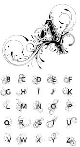 alphabet lettering tattoo design a z best images of cool font