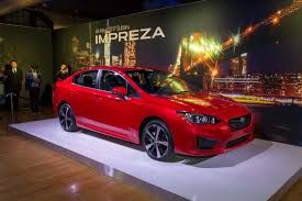 2017 subaru impreza sedan black new 2017 subaru impreza adds trim bumps price news cars com
