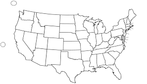 United States Map Quiz by 100 Unlabeled Us Map Quiz United States Map Tourist
