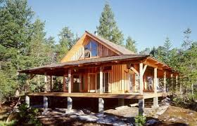 a frame lake house plans cabin plans small lake plan with basement loft house rustic