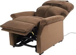 fauteuil confort electrique fauteuil releveur 2 moteurs velours bronze confort taille