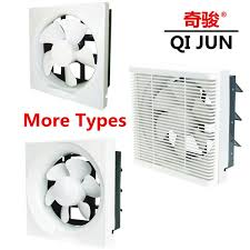 thermostat controlled exhaust fan 8in portable kitchen exhaust fan funcional two way exhaust fan