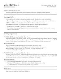 waitress resume exle resume for waiter waitress resume sle airline resume waiter