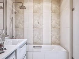 Wall Tile Designs Bathroom Bathroom 23 Brick Pattern Tile Shower With Shelves In