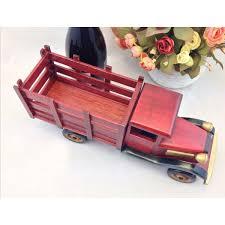 wooden truck cheap handmade wooden home decoration truck vintage car wine