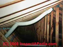 bathroom exhaust fan terminations at walls u0026 roofs bath vent duct
