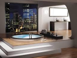 jacuzzi bath in the interior ideas for design