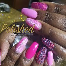 polished nail and hair salon home facebook
