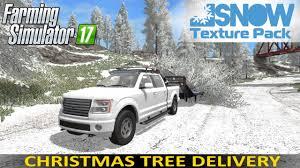 farming simulator 17 snow edition texture pack christmas tree